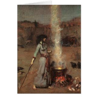 'Magic Circle' Waterhouse Greeting Card
