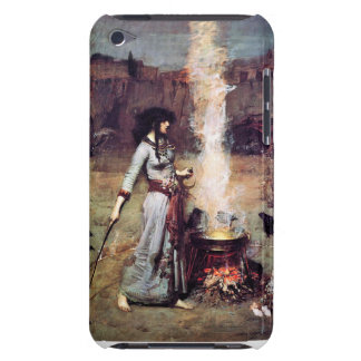 Magic Circle Witch Pre-Raphaelite iPod Case Barely There iPod Cover