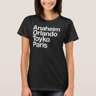 Magic Cities shirt for Ladies