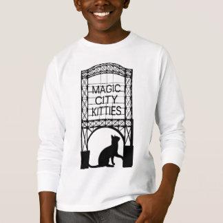 Magic City Kitties Kids Long Sleeve T-shirts