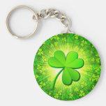 Magic clover key chain