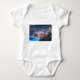 Magic Coastline and Scenery in Amalfi, Italia Baby Bodysuit