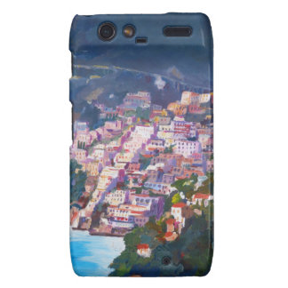 Magic Coastline and Scenery in Amalfi, Italia Motorola Droid RAZR Case