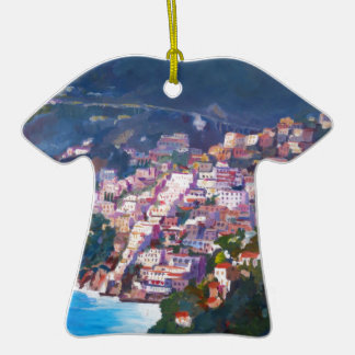 Magic Coastline and Scenery in Amalfi, Italia Ornaments