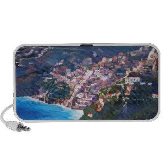 Magic Coastline and Scenery in Amalfi, Italia iPhone Speaker