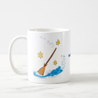 Magic Coffee Cup Classic White Coffee Mug