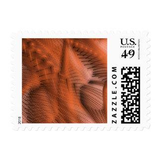magic colors 03 orange postage stamp