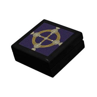 Magic Compass Abstract Art Keepsake Box
