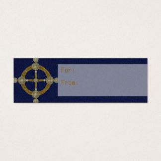 Magic Compass Abstract Art Mini Business Card