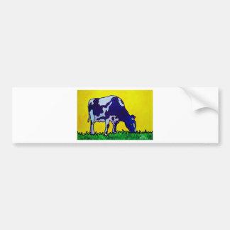 Magic Cow Car Bumper Sticker