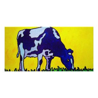 Magic Cow Customized Photo Card
