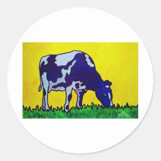 Magic Cow Classic Round Sticker