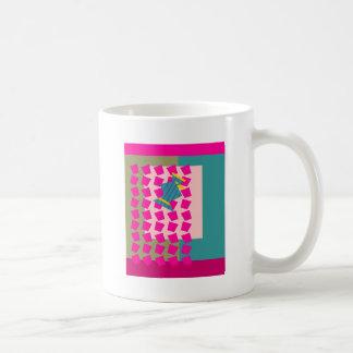 Magic Curtain Bird Coffee Mug