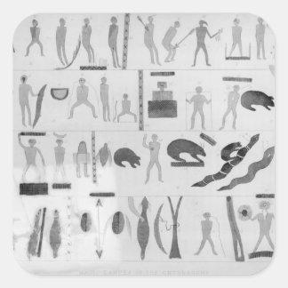 Magic Dances of the Ontonagons Square Sticker