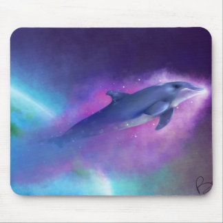 Magic Dolphin Mouse Pad