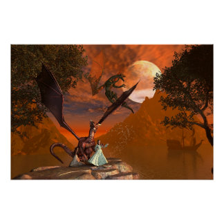 Magic Dragon Poster
