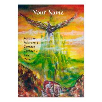 MAGIC DUEL BETWEEN BRADAMANT AND NEGROMANCER BUSINESS CARDS