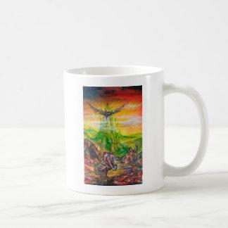 MAGIC DUEL BETWEEN BRADAMANT AND NEGROMANCER COFFEE MUG
