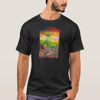 MAGIC DUEL BETWEEN BRADAMANT AND NEGROMANCER T-Shirt