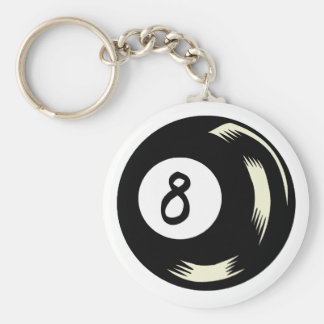 Magic Eight Ball Keychain