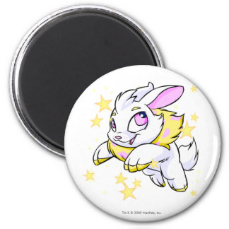Magic Electric Cybunny 2 Inch Round Magnet