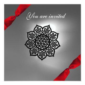 MAGIC EVENT ribbon white red Card
