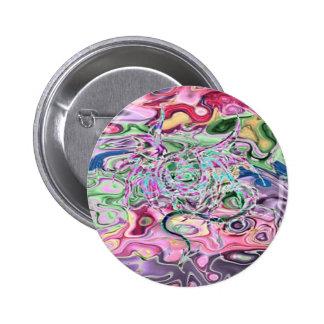 Magic Eye Pinback Button