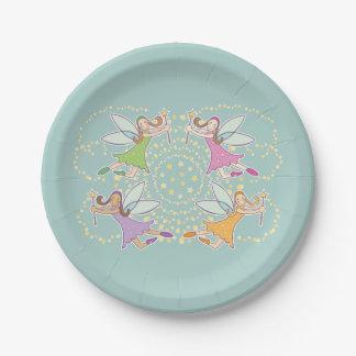 Magic Fairies Paper Plate