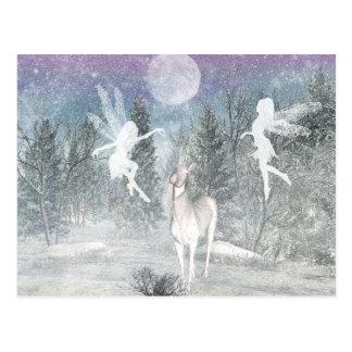 magic fairies postcard
