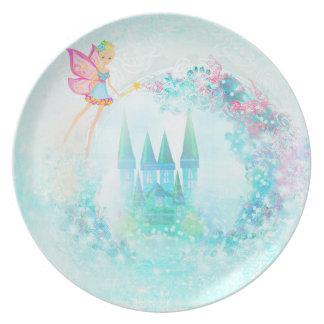 Magic Fairy Tale Princess Castle Plate