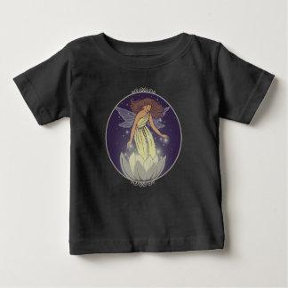 Magic Fairy White Flower Glow Fantasy Art Baby T-Shirt
