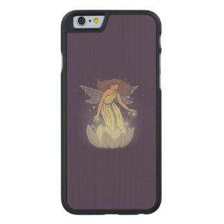 Magic Fairy White Flower Glow Fantasy Art Carved® Maple iPhone 6 Slim Case