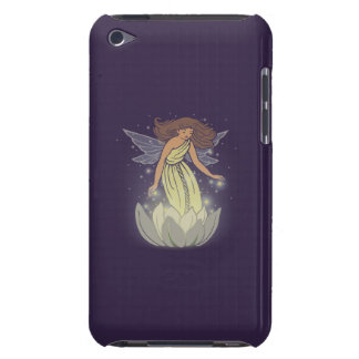 Magic Fairy White Flower Glow Fantasy Art Barely There iPod Cover