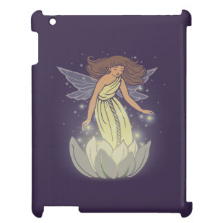 Magic Fairy White Flower Glow Fantasy Art Case For The iPad