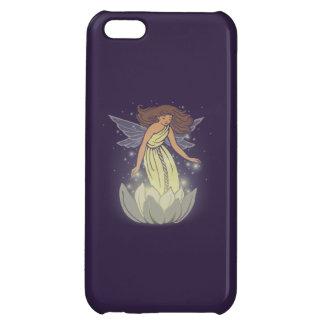 Magic Fairy White Flower Glow Fantasy Art Cover For iPhone 5C
