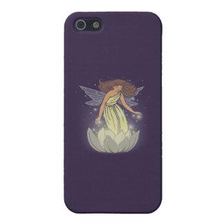 Magic Fairy White Flower Glow Fantasy Art Cover For iPhone SE/5/5s