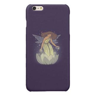 Magic Fairy White Flower Glow Fantasy Art Glossy iPhone 6 Plus Case