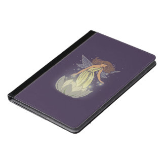 Magic Fairy White Flower Glow Fantasy Art iPad Air Case