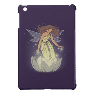 Magic Fairy White Flower Glow Fantasy Art iPad Mini Cover