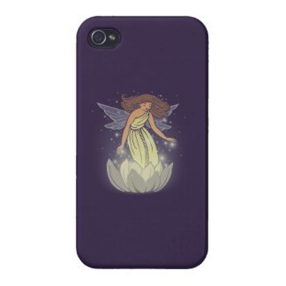 Magic Fairy White Flower Glow Fantasy Art iPhone 4/4S Cover