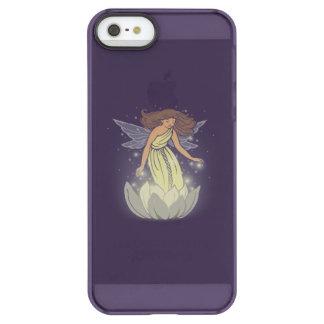 Magic Fairy White Flower Glow Fantasy Art Permafrost® iPhone SE/5/5s Case