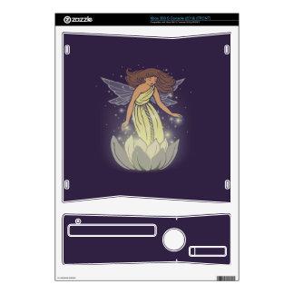 Magic Fairy White Flower Glow Fantasy Art Skin For The Xbox 360 S