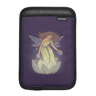 Magic Fairy White Flower Glow Fantasy Art Sleeve For iPad Mini