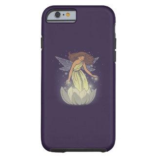 Magic Fairy White Flower Glow Fantasy Art Tough iPhone 6 Case