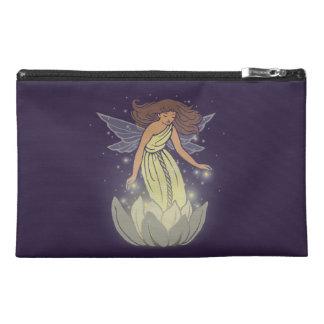Magic Fairy White Flower Glow Fantasy Art Travel Accessory Bag