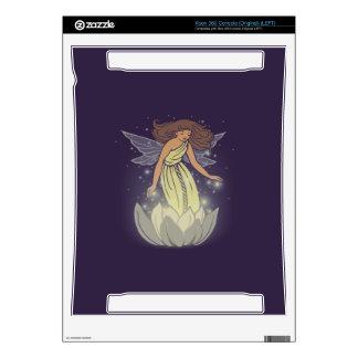Magic Fairy White Flower Glow Fantasy Art Xbox 360 Skins