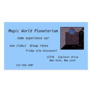 Magic  Fancy Custom Cards Business Cards