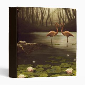 Magic Flamingos Binder