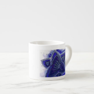 ...magic flower...art by Jutta Gabriel.... Espresso Cup
