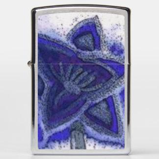 ...magic flower...art by Jutta Gabriel...(Zippo).. Zippo Lighter